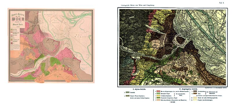Suess Maps of Vienna